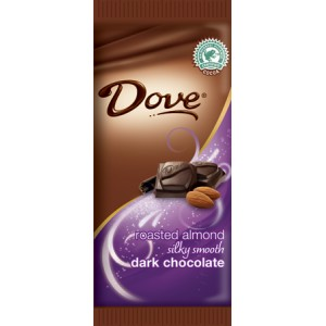 DOVE DARK ALMONDS CHOCOLATE BAR 1/12
