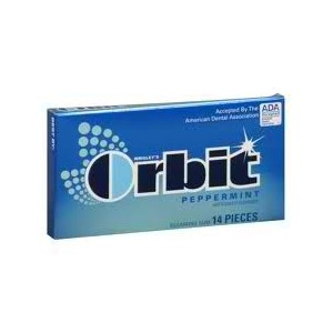 ORBIT GUM PEPPERMINT 12/12