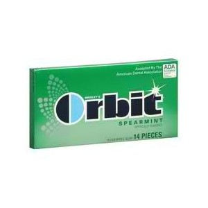 ORBIT GUM SPEARMINT 12/12