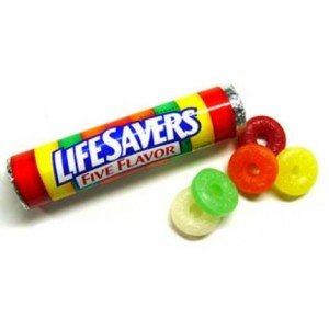 LIFE SAVERS 5 FLAVORS 15/20