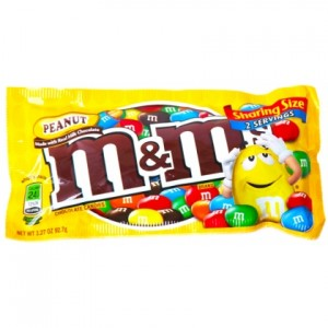 M&M PEANUTS KING SIZE 6/24